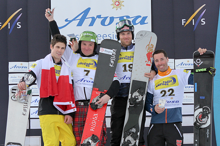 FIS Snowboard World Cup - Arosa - PGS