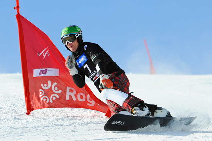 FIS Snowboard World Cup - Rogla SLO  - Parallel Giant Slalom - PGS - Marguc Rok SLO © Miha Matavz